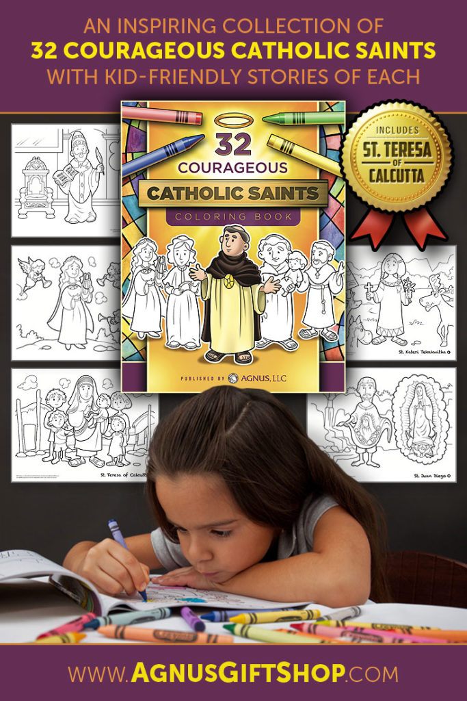 Coloring Catholic Saints coloring book